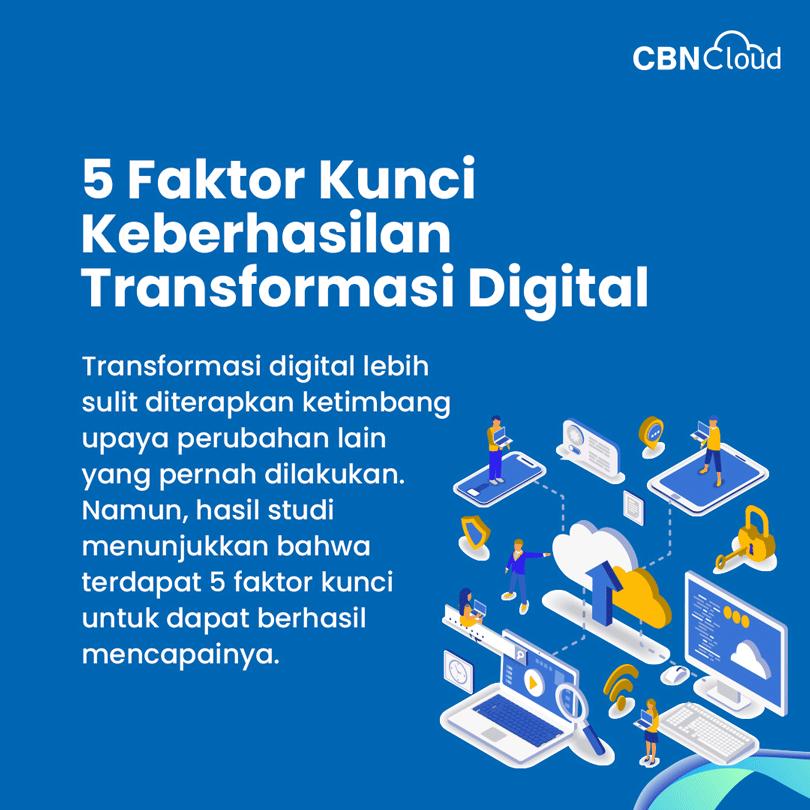 5 Faktor Kunci Keberhasilan Transformasi Digital